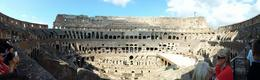 Photo of Rome Skip the Line: Ancient Rome and Colosseum Half-Day Walking Tour The Colosseum in panorama view