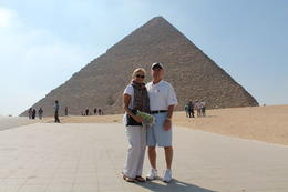 Becky and Mike enjoying Giza , Michael F - September 2012