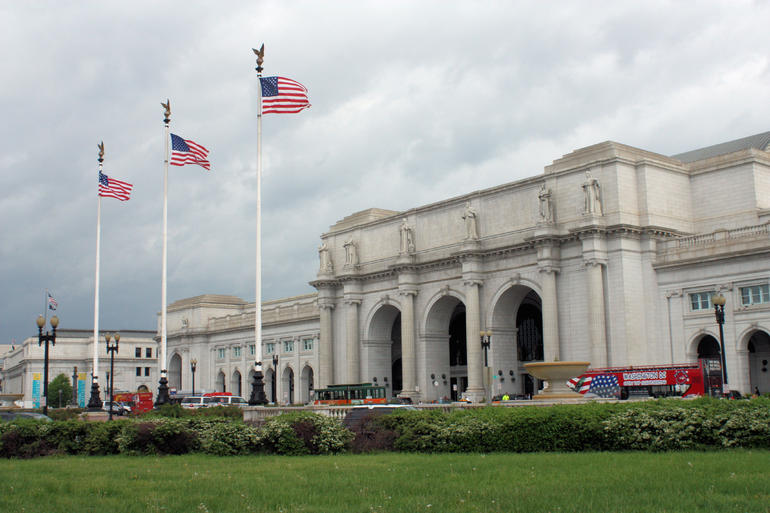 The Union Station - Washington DC