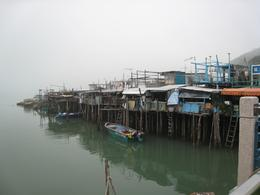 Traditional stilt houses at Tai O fishing community, Tara L - January 2010