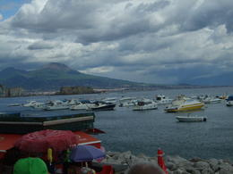 Photo of   View across the Bay of Naples.