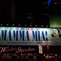 Photo of New York City Mamma Mia! On Broadway WINTER GARDEN THEATER