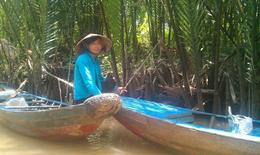 Photo of Ho Chi Minh City Mekong Delta Discovery Small Group Adventure Tour from Ho Chi Minh City Boat ride