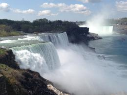 Photo of   A beautiful day at Niagara Falls