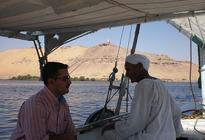 Photo of Aswan Private Felucca Tour: Aswan Botanic Gardens