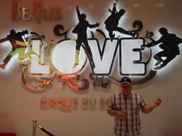 Photo of Las Vegas The Beatles™ LOVE™ by Cirque du Soleil® at the Mirage Hotel and Casino At the front desk before the show