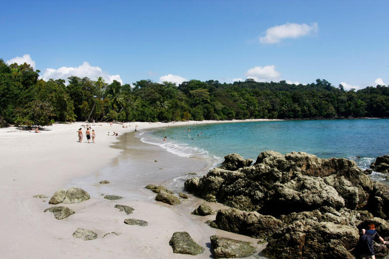 Beach in Manuel Antonio National Park (Costa Rica) - San Jose