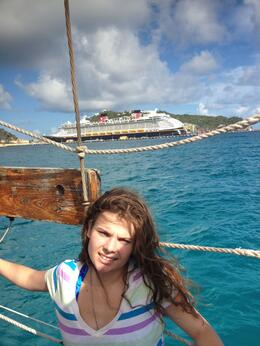 Photo of St Maarten St Maarten Shore Excursion: Pirates Day Cruise Becca on a beautiful day
