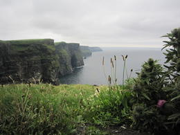 The rain held off for us while we were at the Cliffs. Gorgeous! , Jennifer N - August 2012