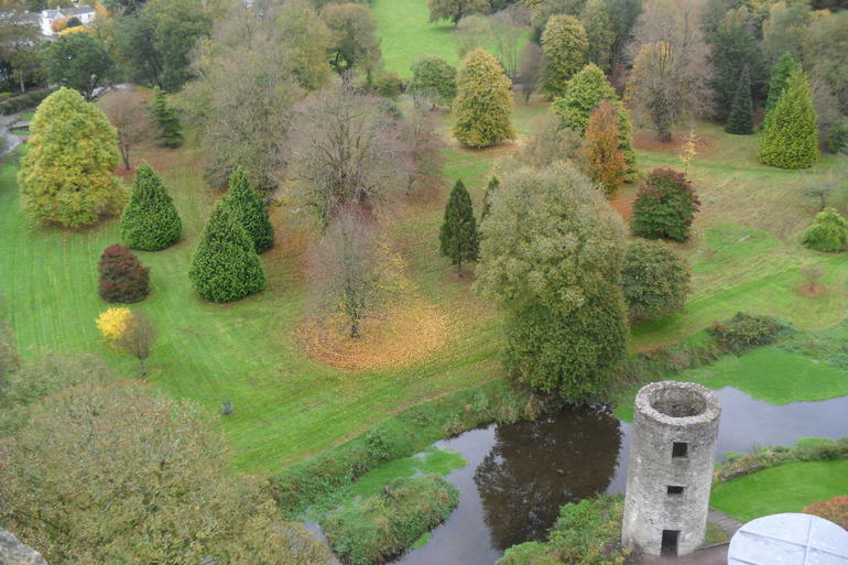 from the top of Blarney Castle - Dublin