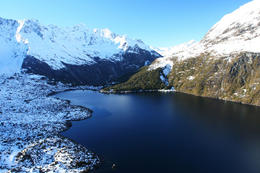 Photo of Queenstown Southern Glacier Experience Helicopter Flight from Queenstown Glacier Lake, New Zealand