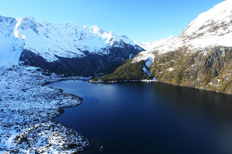 Glacier Lake, New Zealand - Queenstown