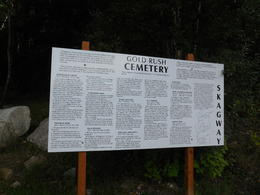 One of the stops we made during this tour was the Gold Rush Cemetery, just a bit outside Skagway , rjhoult - September 2013