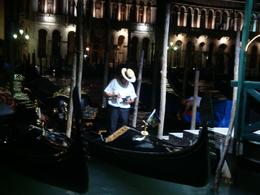 Photo of Venice Skip the Line: Venice in One Day Including Boat Tour Gondola guy after the end of the day