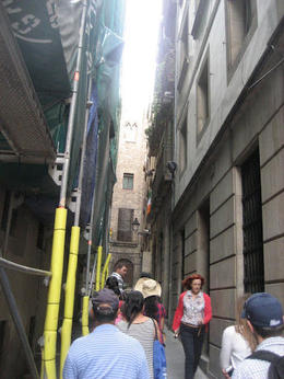 Some of the narrow side streets that lead you to smaller quarters with richer history , Kristine Mo. - June 2012