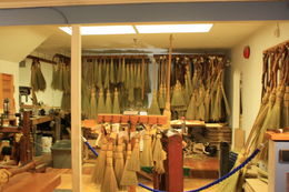 during Vancouver sightseeing tour we stopped 1 hour on Granville Island to explore. Many unique shops. The aroma of the straw in the broom store was fresh and unique , Marcy H - September 2015