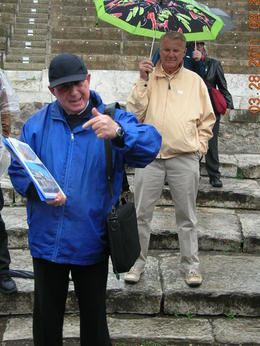 Our Tour guide at Pompeii was outstanding. He knew everything about the area. He could answer any and all questions. He was upbeat and full energy. , Roger D - May 2011