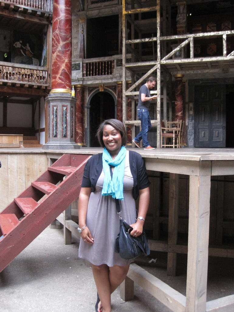 Inside the Globe Theatre - London