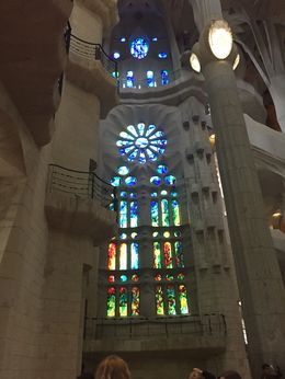 Photo of the beautiful stained glass , CHRIS C - May 2016