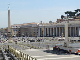 Photo of   Looking out at Vatican city