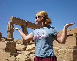 Every now and then you have to Walk Like An Egyptian! - May 2008