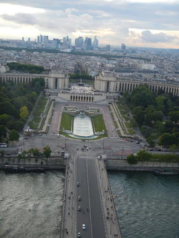 Photo of Paris Skip the Line: Small-Group Eiffel Tower Sunset Tour May 26 2014 view from the Eiffel Tower at Sunset