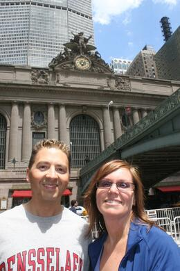 Photo of New York City Private New York Walking Tour with a Personal Photographer Outside Grand Central