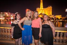 Photo of Las Vegas Viator Exclusive: Las Vegas Strip by Limo with Personal Photographer Overlooking the Paris Hotel