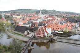 Photo of Prague Cesky Krumlov Day Trip from Prague Panaramic View of the Picturesque Town
