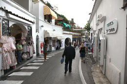 Positano street scene as we walked from main street down to the shoreline. , Rick Reynolds - June 2013