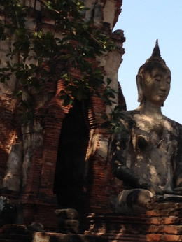 Photo of Bangkok Thailand's Ayutthaya Temples and River Cruise from Bangkok Ruins at Ayutthaya