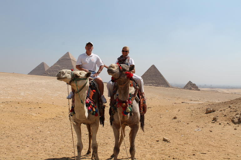 Seeing the Pyramids the old fashion way - Cairo