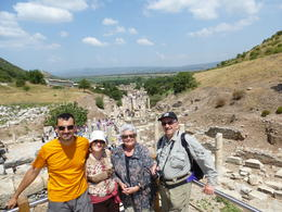Photo of   Seeing the ruins of Ephesus (Efeze)