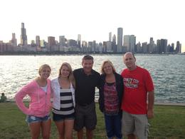 Awesome tour of downtown Chicago with some of my dear family! , Mark A - August 2013