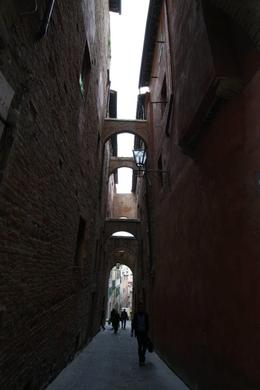 Cool alley in Siena, Jennifer D - June 2010
