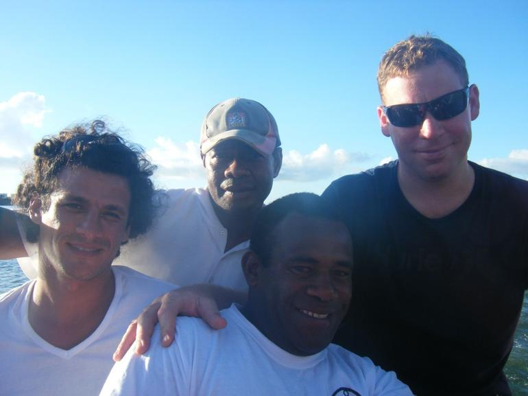 Some of the Crew (and my partner in black) - Fiji