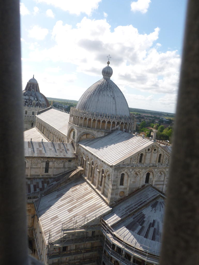 Up the tower - Pisa