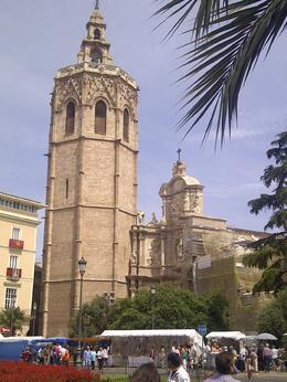 Photo of Valencia Valencia Bike Tour Including Tapas Valencia Cathedral