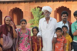 Locals in Agra - September 2012
