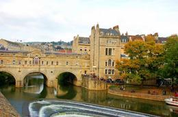 Photo of London Salisbury, Lacock and Bath Day Trip from London Bath's famous bridge