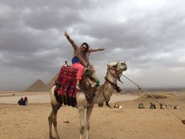 Definitely on my bucket list! I got to ride a camel and I did it at the Great Pyramid! , Susan V - February 2016
