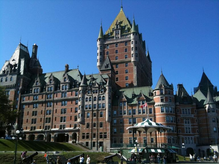 Chateau Frontenac in Quebec City - Montreal