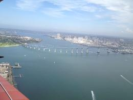 Photo of San Diego Open Cockpit Biplane Sightseeing Ride Coronado bridge picture! Awesome.