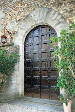 One of the castle doors, Matt G - April 2009