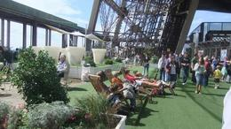 lounge area in Eiffel Tower, Ana M L - August 2010