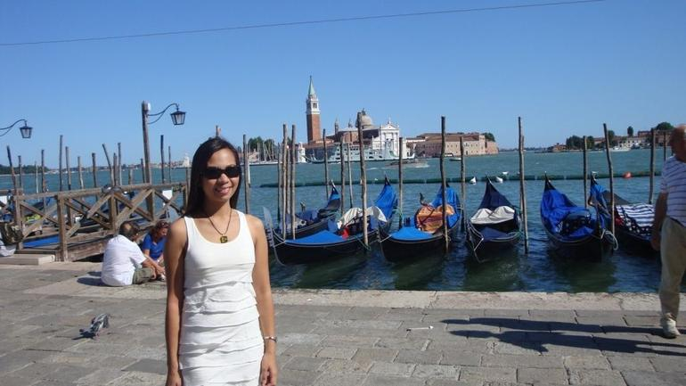 Enjoying the sun at San Marco - Venice