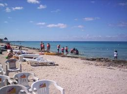 Photo of Cozumel Playa Uvas Private Beach Pass Going out to snorkel