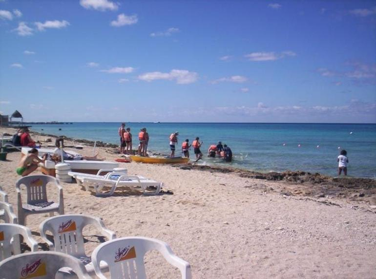 Going out to snorkel - Cozumel