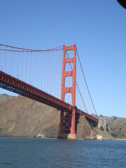 A cruise is the best way to get close to this famous bridge!!! Nice views!, ANTHONY G - November 2009