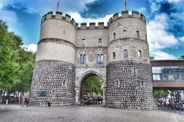 The Hahnentorburg is a very handsome looking medieval city gate. , David Lally - September 2015